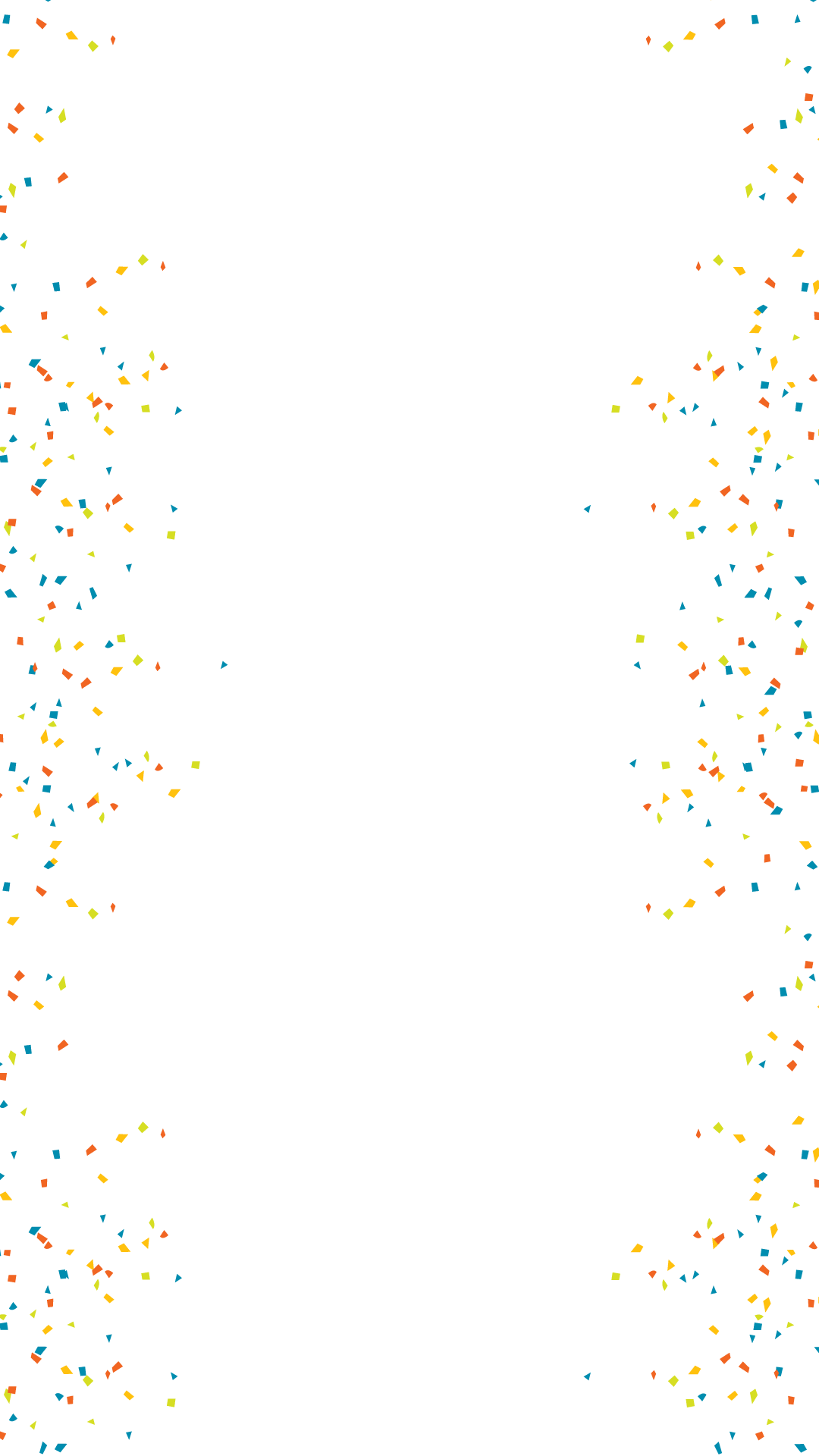 Simple Confetti Birthday Snapchat Filter Geofilter Maker