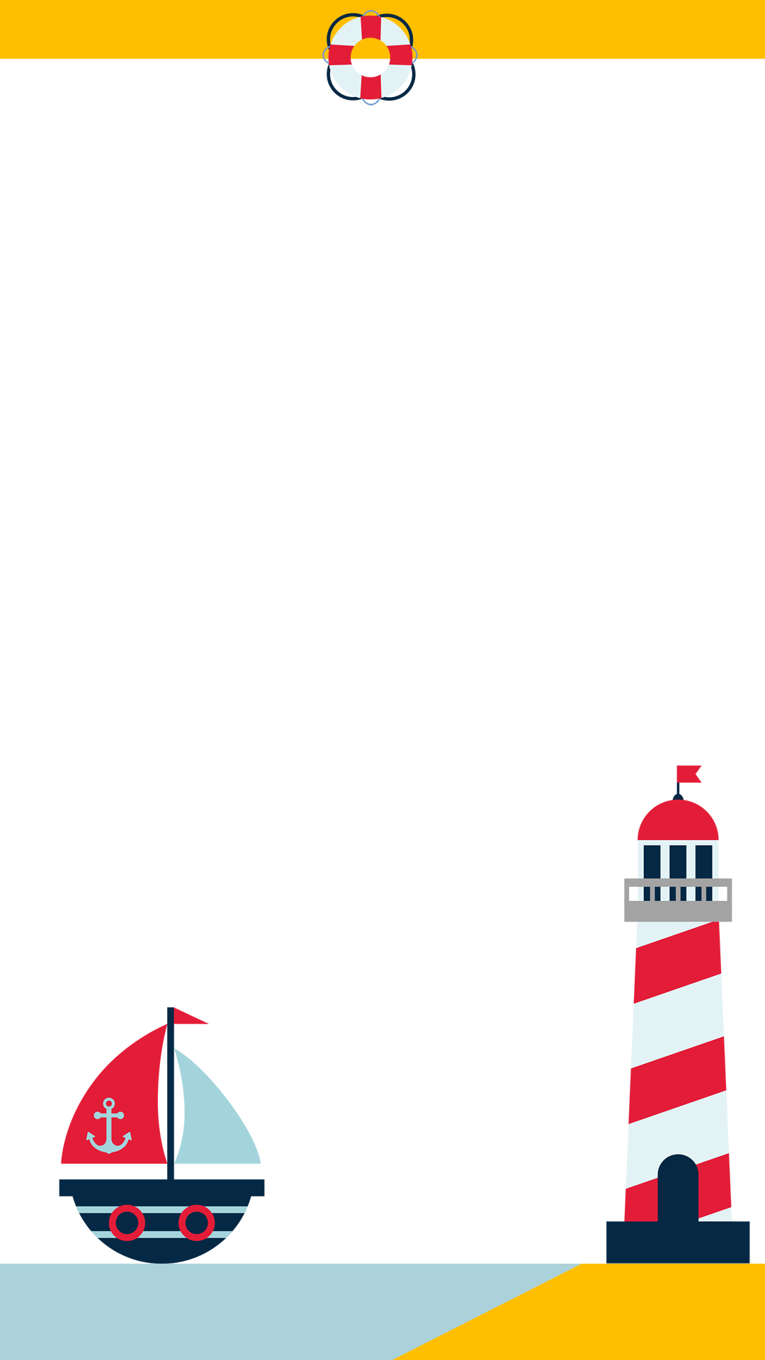Nautical Baby Shower Snapchat Filter