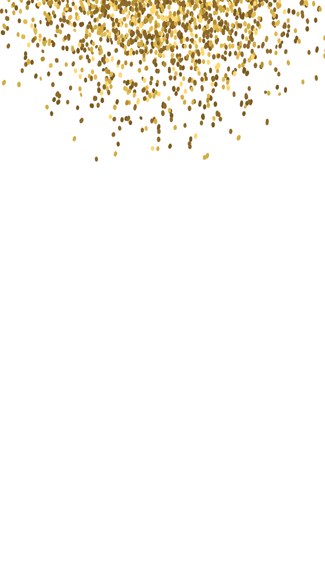 Golden Sparkles Bachelorette Snapchat Filter | Geofilter Maker on
